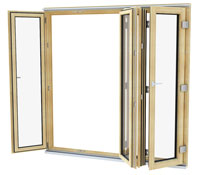 External Entrance and Patio Doors with Frame