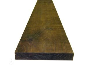 Brown Treated Fence Boards