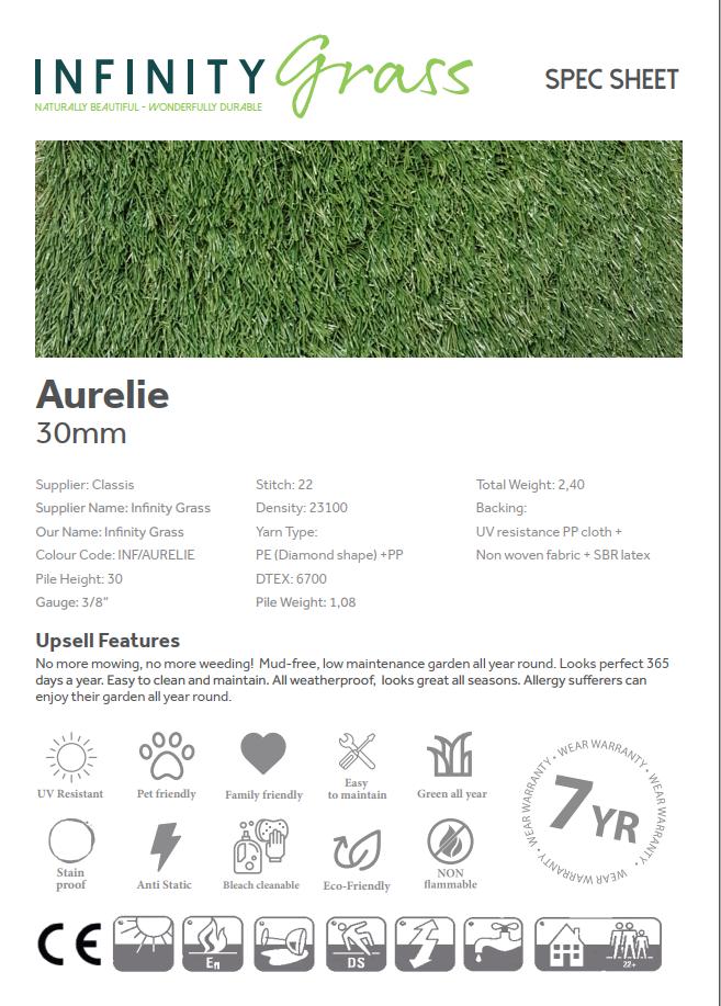 Aurelie Spec Sheet