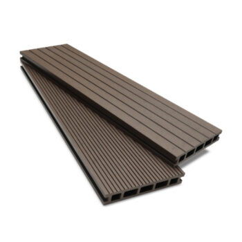 Dual Surface Clarity Walnut Composite Decking
