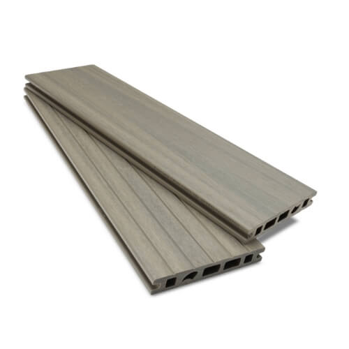 Dual Surface Forma Silver Birch Composite Decking